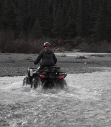 ATV Crossing at Knik River
